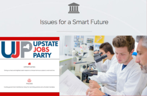 Issues for a Brighter Future | Upstate Jobs Party