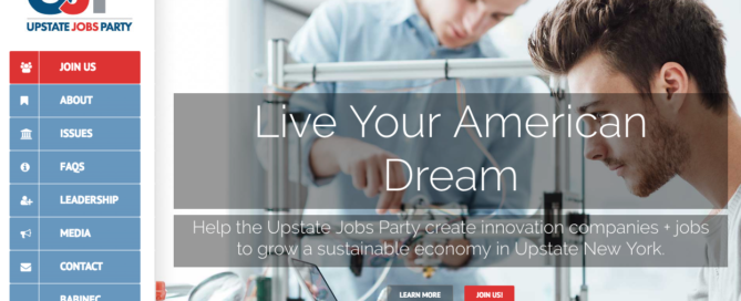 Babinec Announces Upstate Jobs Party Formation