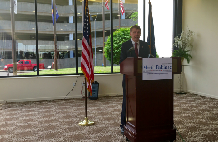 Martin Babinec Announces Upstate Jobs Party