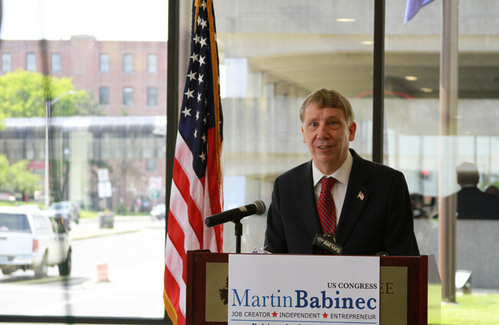 Babinec files 10000 signatures for Upstate Jobs Party line