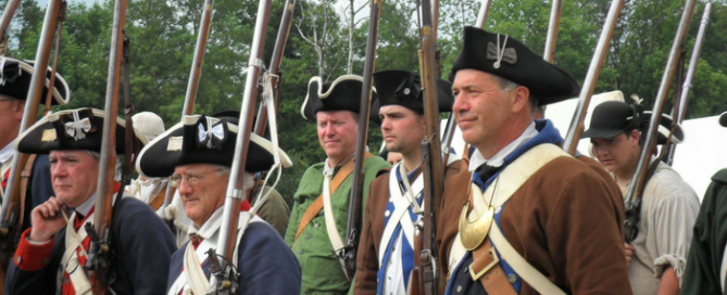 Battle of Oriskany Renactors Feature - 700 x 456