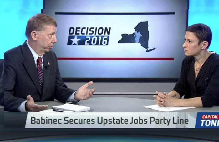 Capital Tonight: Babinec Secures Upstate Jobs Party Line