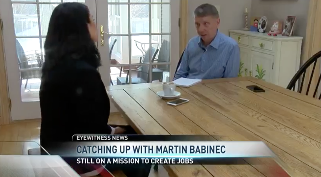WUTR ABC: Catching Up with Martin Babinec