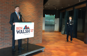 Martin Babinec supports Ben Walsh for Syracuse Mayor