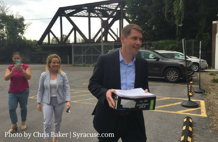 Ben Walsh Claims Spot on Upstate Jobs Line